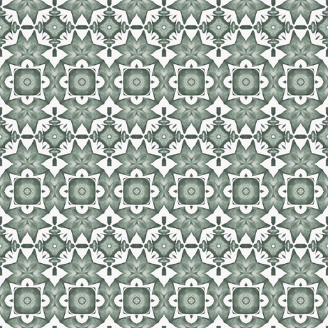 Tender Mosaic vintage geometric pattern 97 fabric by julia_dreams on Spoonflower - custom fabric
