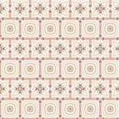 Tender Mosaic vintage geometric pattern 98