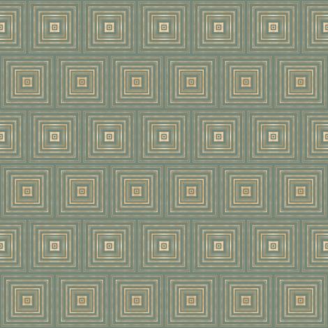 Tender Mosaic vintage geometric pattern 100 fabric by julia_dreams on Spoonflower - custom fabric
