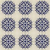 Intense Blue Pattern5