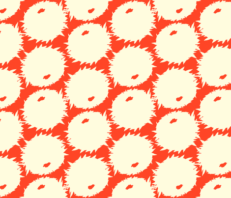 rage_ball_simple_red_tile fabric by terrencepayne on Spoonflower - custom fabric