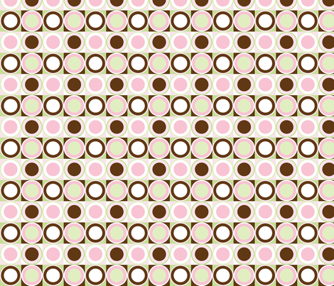 Candy Circles fabric by audreyclayton on Spoonflower - custom fabric
