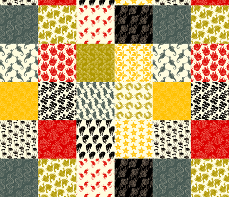pattern_14_grid fabric by terrencepayne on Spoonflower - custom fabric