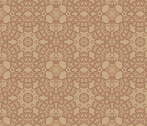 Shabby Peach fabric by dreamwhisper on Spoonflower - custom fabric