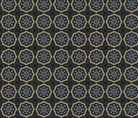 Elemenatal_Mystique_Square_2a_8x8x150sm fabric by dreamwhisper on Spoonflower - custom fabric