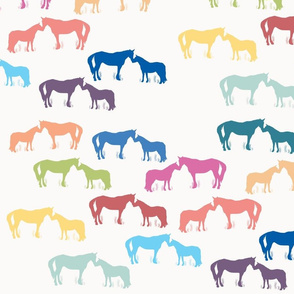 Horse Kisses Multi
