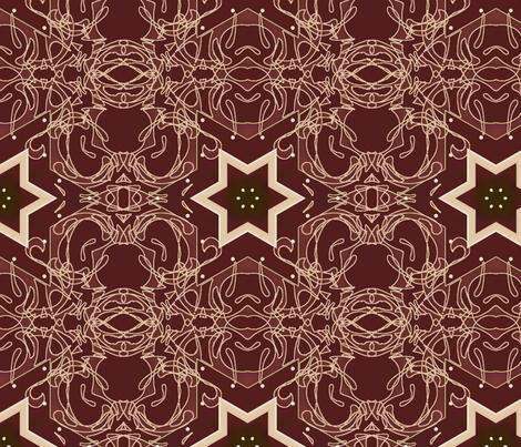 Red Shabby 2 fabric by dreamwhisper on Spoonflower - custom fabric