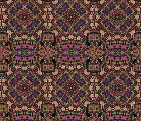 Radiant Consciousness fabric by dreamwhisper on Spoonflower - custom fabric