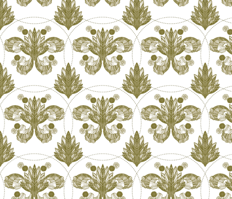 GoldLeaf fabric by daynagedney on Spoonflower - custom fabric