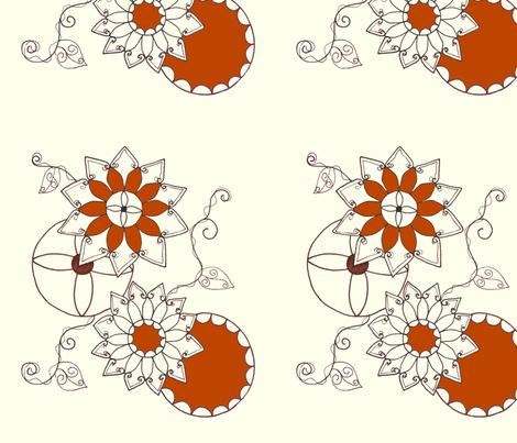 1976 fabric by mahoganyturtle on Spoonflower - custom fabric