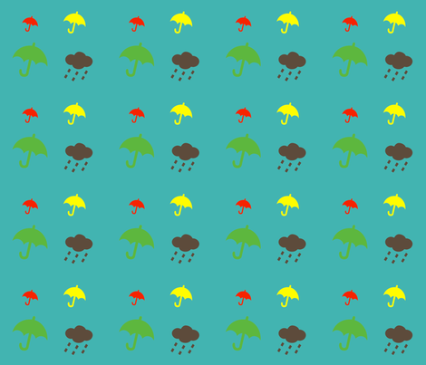 paraplyer fabric by snork on Spoonflower - custom fabric