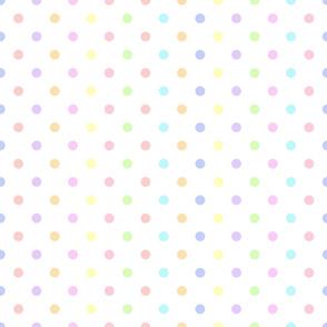 cupcake polkadot