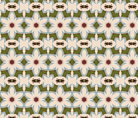 Shabby_Flower_edited-1 fabric by dreamwhisper on Spoonflower - custom fabric