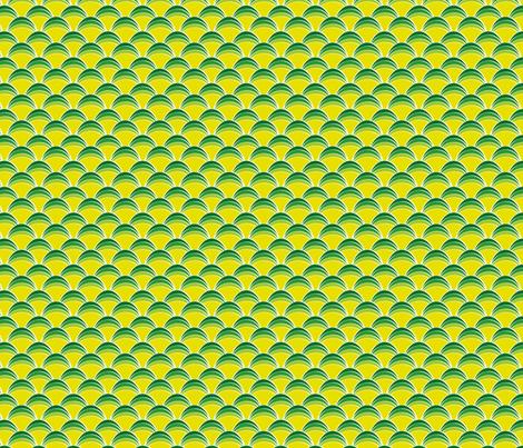 greenscallops fabric by cottageindustrialist on Spoonflower - custom fabric