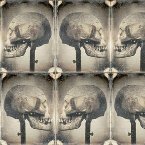 skull patchwork