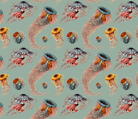 subdued jellies fabric by northern_scout_vintage on Spoonflower - custom fabric
