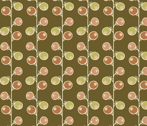fruit fabric by troismiettes on Spoonflower - custom fabric