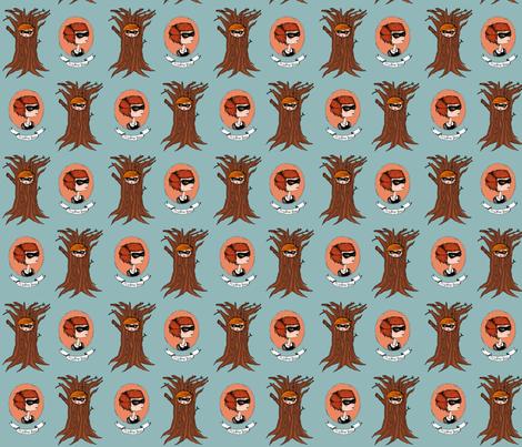 misstreegirl fabric by mysterygirl on Spoonflower - custom fabric