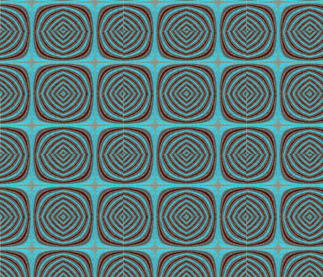 lines2Blue fabric by cj on Spoonflower - custom fabric