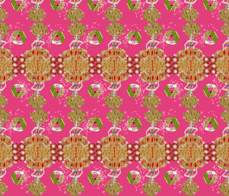 marieantoinettefabric1200 fabric by amarettogirl on Spoonflower - custom fabric