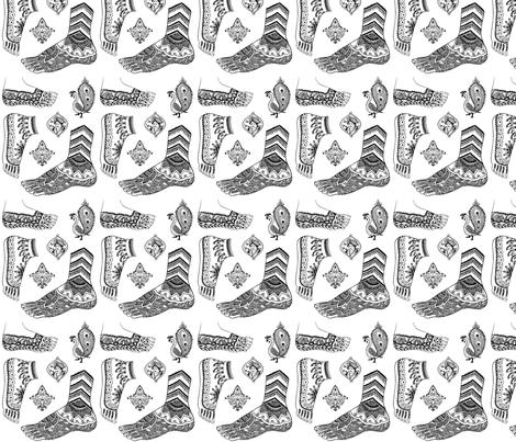 mehndi fabric by starchylde on Spoonflower - custom fabric