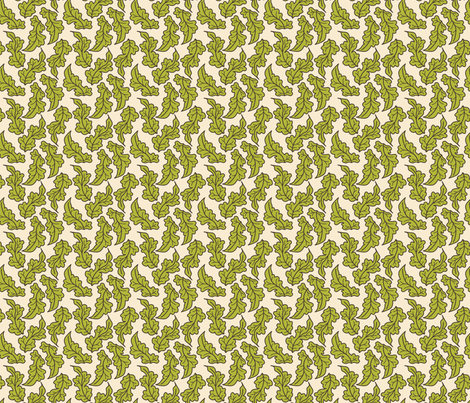 A Few of my Favorite Thing Foliage fabric by sarahb on Spoonflower - custom fabric
