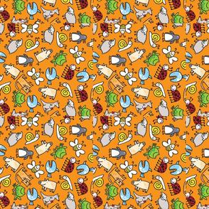 animals/orange/swatch (trial)