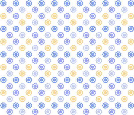 ninepetalCF fabric by ink on Spoonflower - custom fabric