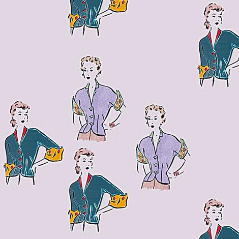 Cuffs fabric by nalo_hopkinson on Spoonflower - custom fabric