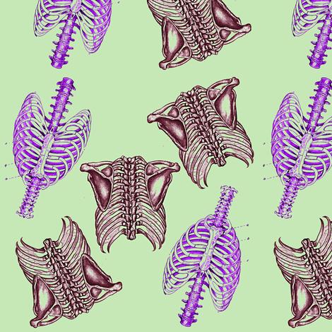 Bone Dance fabric by nalo_hopkinson on Spoonflower - custom fabric