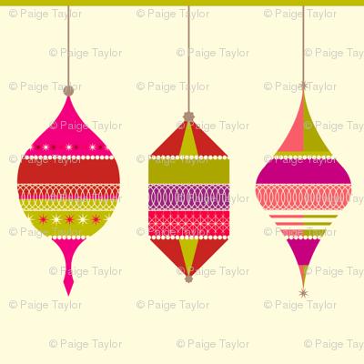 sparkle and shine ornaments