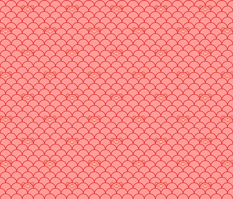 Pink Bears fabric by beeskneesindustries on Spoonflower - custom fabric