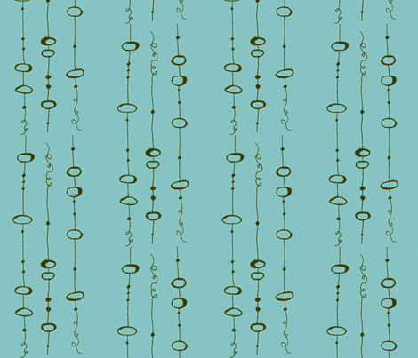 landing_blue_green fabric by farmhousegirl on Spoonflower - custom fabric