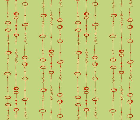 landing_wheat fabric by farmhousegirl on Spoonflower - custom fabric