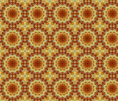 Emperor_s_SunFlower_tile fabric by dreamwhisper on Spoonflower - custom fabric
