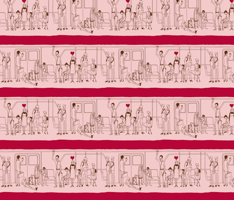 bart_vday_fabric fabric by brianamiller on Spoonflower - custom fabric
