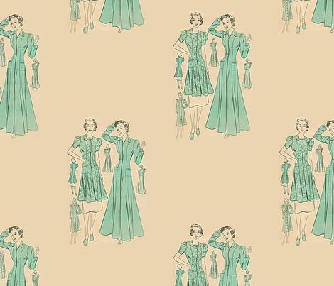 Swank fabric by nalo_hopkinson on Spoonflower - custom fabric