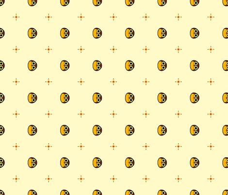 Hoot fabric by leighr on Spoonflower - custom fabric