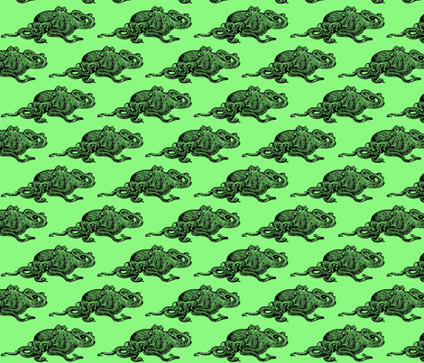 Octopus fabric by nalo_hopkinson on Spoonflower - custom fabric