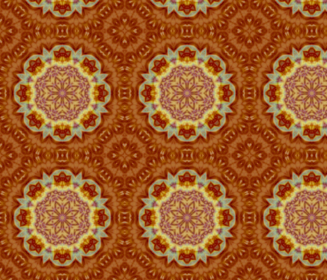 Emperor_s_SunFlower_tile_edited-32_large_edited-28 fabric by dreamwhisper on Spoonflower - custom fabric