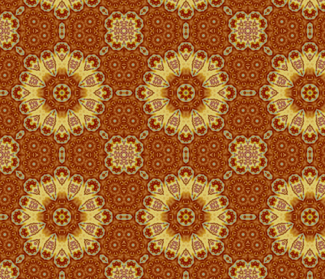 Emperor_s_SunFlower_tile_edited-32_large_edited-28copy fabric by dreamwhisper on Spoonflower - custom fabric
