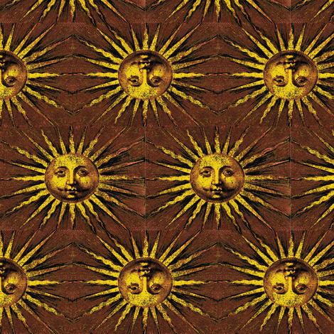 Here Comes the Sun fabric by nalo_hopkinson on Spoonflower - custom fabric