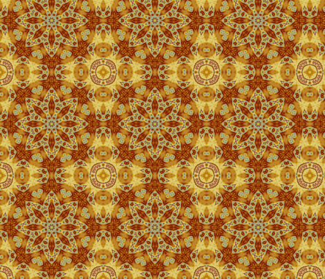 Emperor_s_SunFlower_tile_edited-32_large_edited-30 fabric by dreamwhisper on Spoonflower - custom fabric