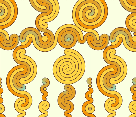Spiral mesh fabric by jinjer on Spoonflower - custom fabric