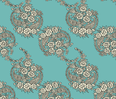 indian_motif_pattern5 fabric by craftchi on Spoonflower - custom fabric