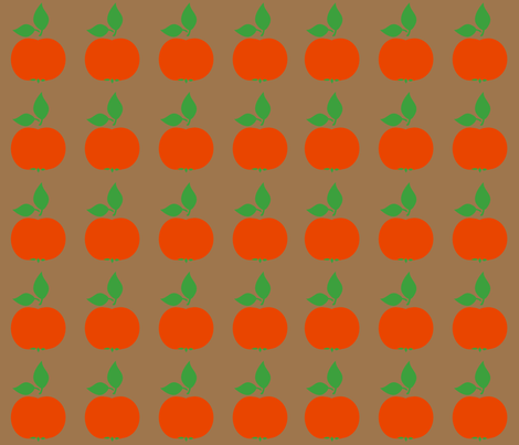 apples fabric by snork on Spoonflower - custom fabric