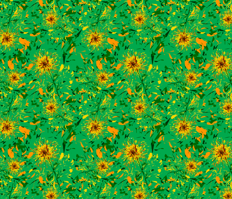 Garden fabric by royalforest on Spoonflower - custom fabric