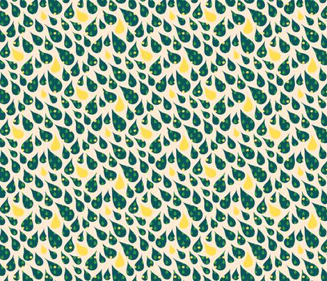 Rainshower fabric by bronhoffer on Spoonflower - custom fabric