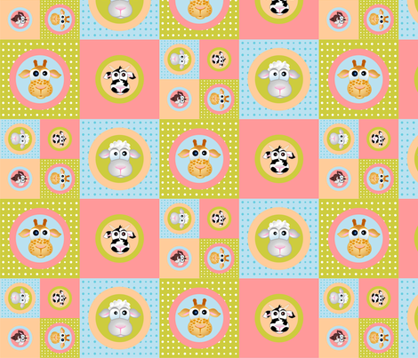 TIERE3 fabric by vina on Spoonflower - custom fabric