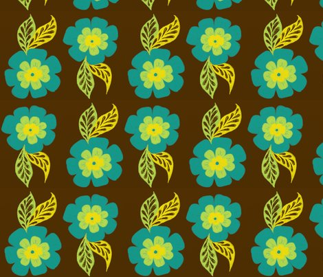 Rrbloom_in_blue_-brown_bg_for_spoonflower_shop_preview